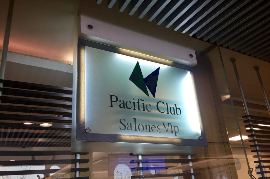 Salones VIP Pacific Club Lounge at the Santiago Airport